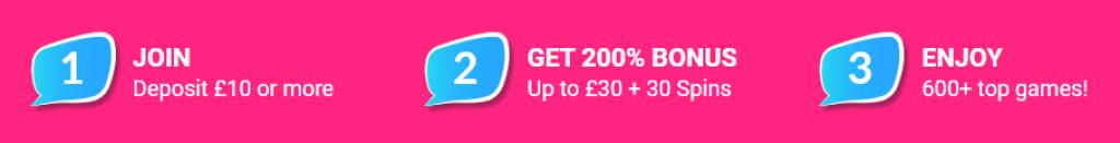 gossip bingo bonus details