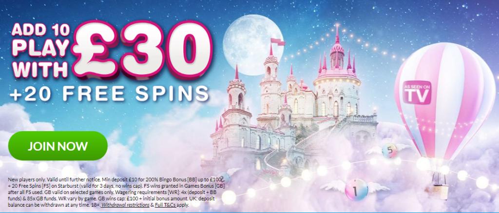 moon bingo bonus