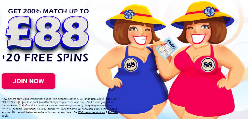 two fat ladies bonus
