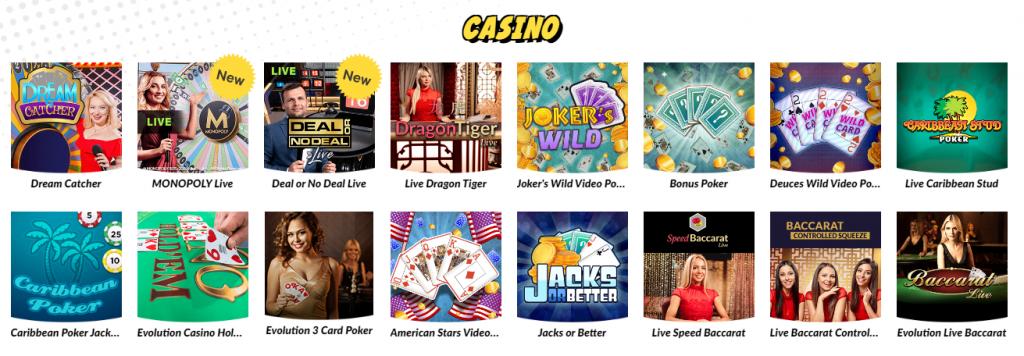 wink bingo live games